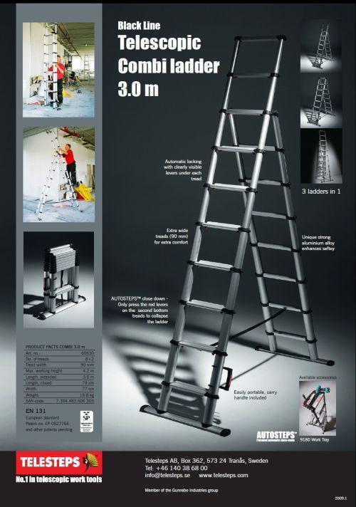Combiladder Telesteps 3.0 m