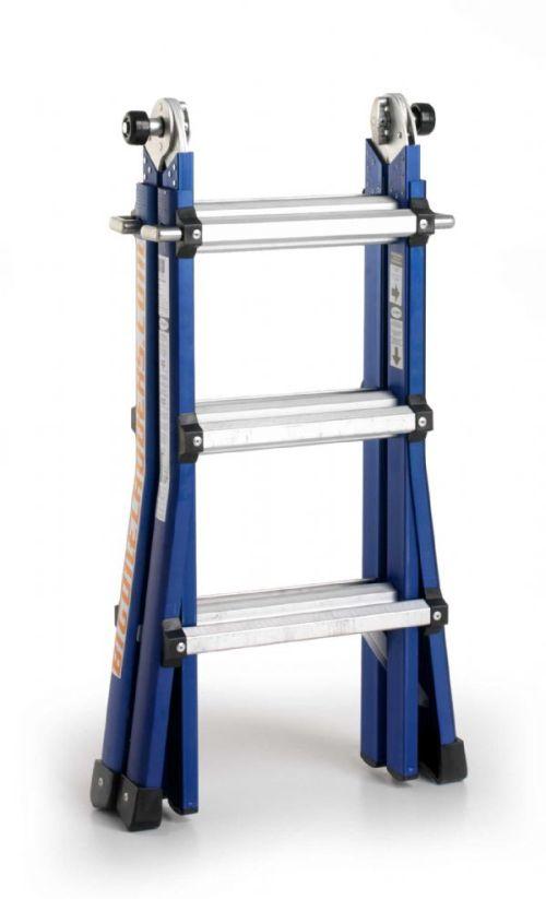 Vouwtrap / Telescoopladder BigOne 4 x 3 treden