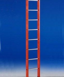 Glasfiber enkele ladder 10 treden