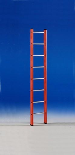 Glasfiber enkele ladder 8 treden